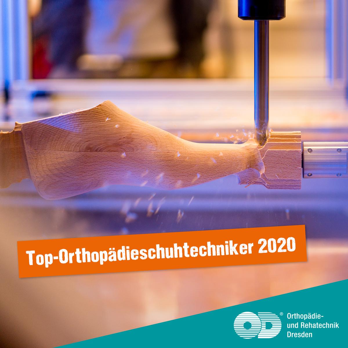 ORD ist Top-Orthopädieschuhtechniker 2020
